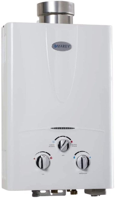 Marey GA10LP Power 10L 3.1 GPM Propane Gas Tankless Water Heater